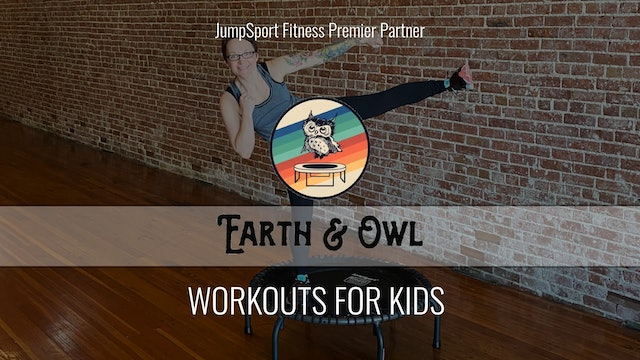 Workouts for Kids with Earth & Owl