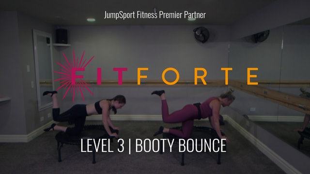 Level 3 | Booty Bounce | FitForte with Christa