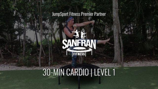 30-Min. Cardio | Level 1 | SanFran Fi...