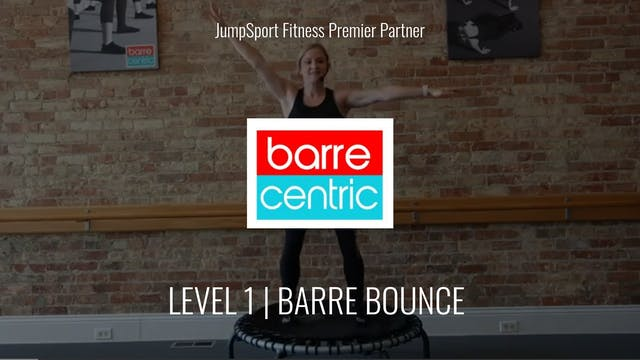 Level 1 | Basic Barre Bounce | Barre Centric with Rachel