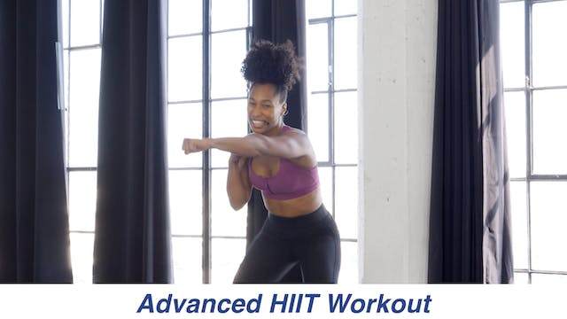 Advanced HIIT Workout with Tiffany