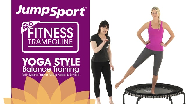Trampoline Yoga