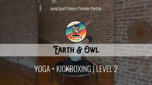 Level 2 | Yoga + Kickboxing | Earth & Owl with Nikki