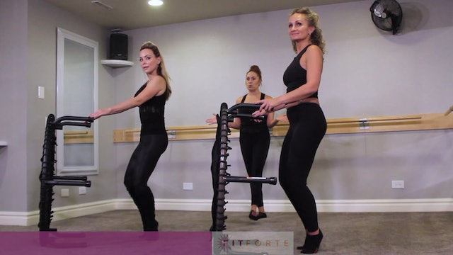 Level 2   Thigh Burn with Nadia   Fit Forte