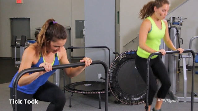 Cardio Intervals With Optional Handle Bar