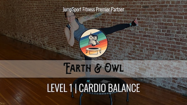 Level 1 | Cardio Balance | Earth & Owl with Nikki