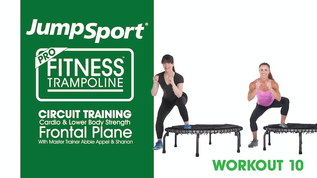 Circuit Training - Cardio & Lower Body Strength - Frontal Plane