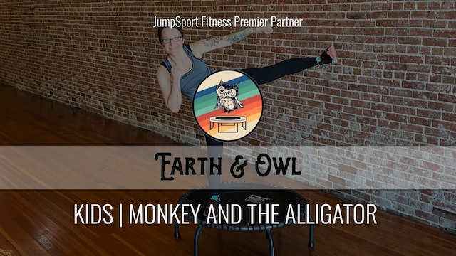 Kids | Monkey and the Alligator | Earth & Owl with Miss Nikki