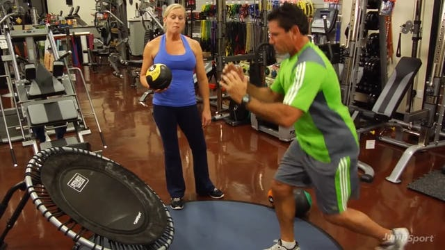 PlyoFit Training - Agility Workout (Entire Workout)