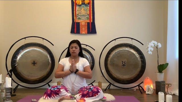 FULL MOON MEDITATION & SOUND BATH