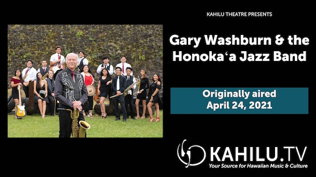 Gary Washburn & the Honokaʻa Jazz Band