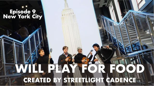 Will Play for Food E9 - New York City