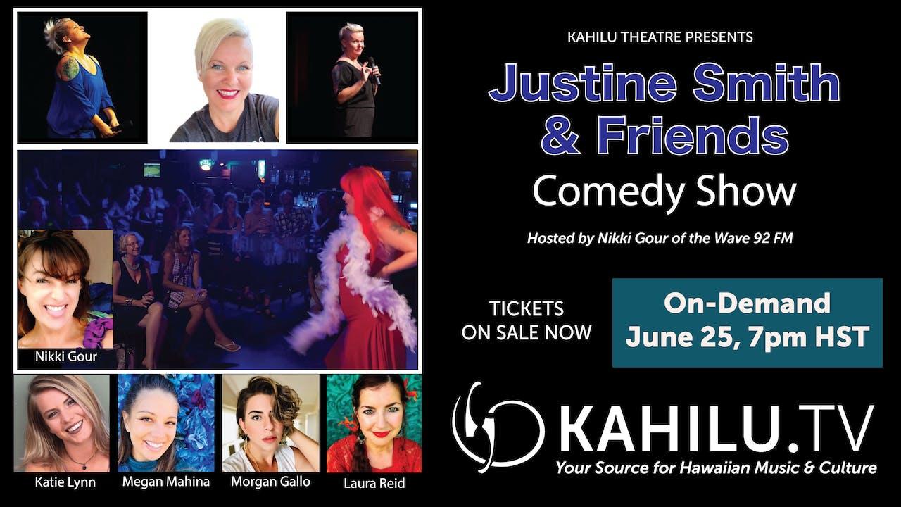 Justine Smith & Friends Comedy Night