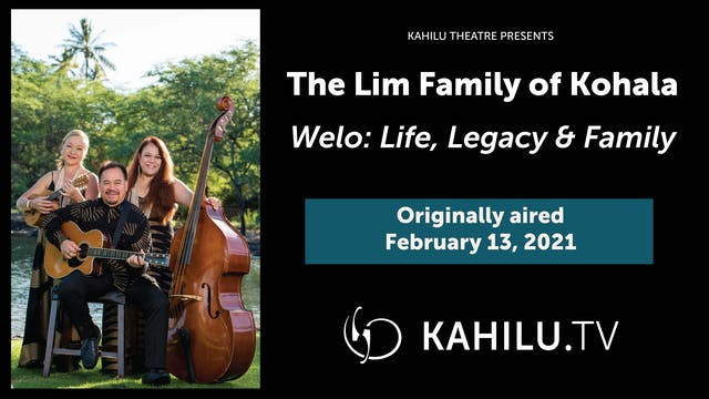 The Lim Family of Kohala LIVE