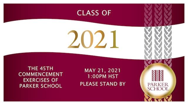 2021 Parker Commencement