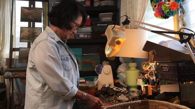 Studio visit with Patricia Uehara