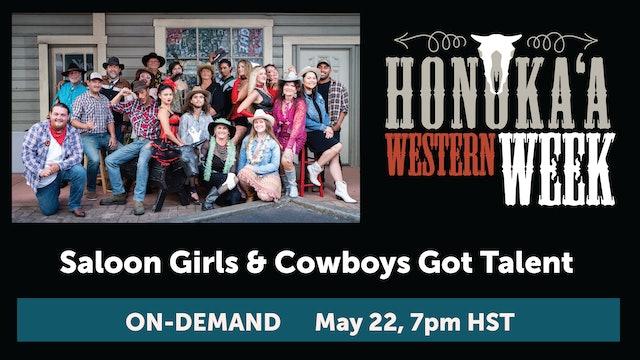 Saloon Girls & Cowboys Got Talent