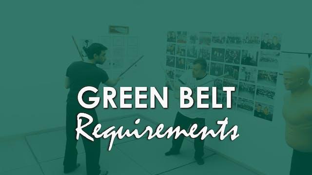 GREEN BELT REQUIREMENTS