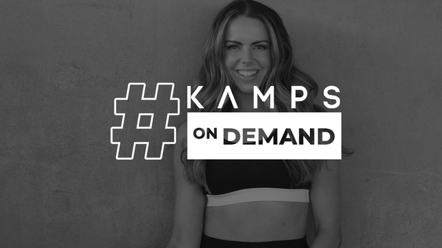Samantha 15 minute Bodyweight Booty Kamp