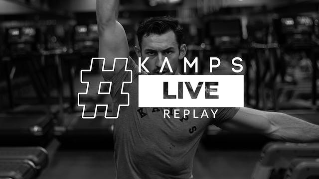 Kamps Live w/ Connor Leg Day