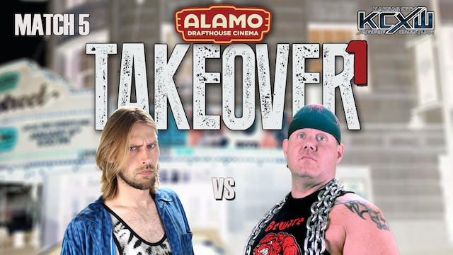 Takeover 1 Match 5: Cattin vs Dogg Loser Leaves the Pack match