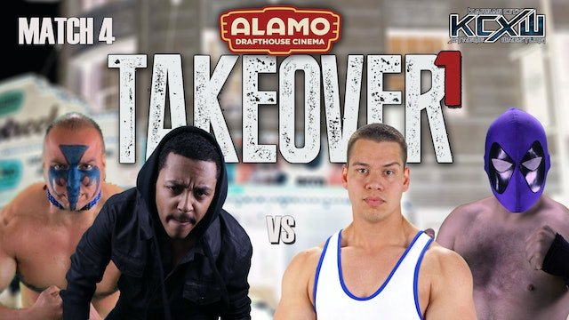 Takeover 1 Match 4: Phoenix/Savage vs Clay/Skycall