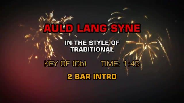 Traditional Christmas - Auld Lang Syne