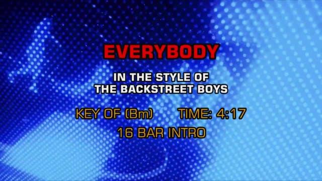Backstreet Boys - Everybody (Backstre...