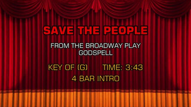 Godspell - Save The People