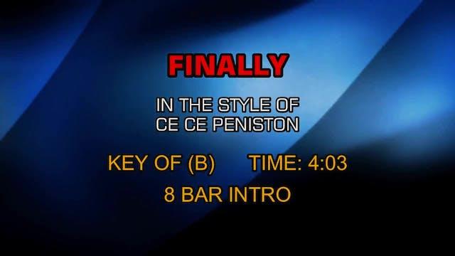 Ce Ce Peniston - Finally