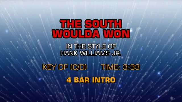 Hank Williams Jr. - If The South Woul...