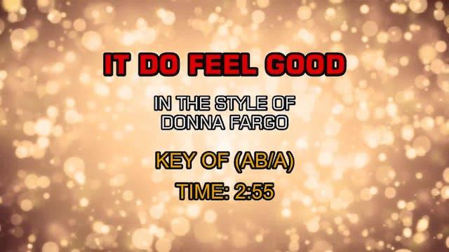 Donna Fargo - It Do Feel Good