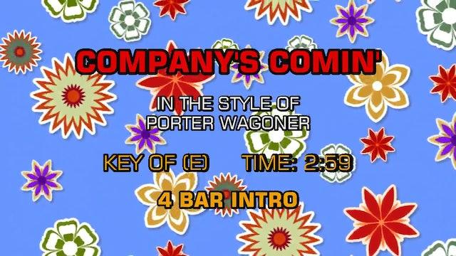 Porter Wagoner - Company's Comin'