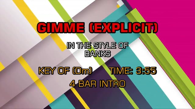 Banks - Gimme (explicit)