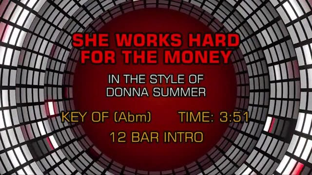 Donna Summer - She Works Hard For The...