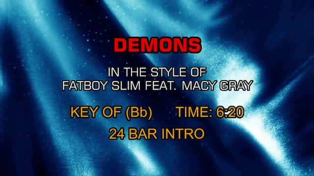 Fatboy Slim Ft. Macy Gray - Demons