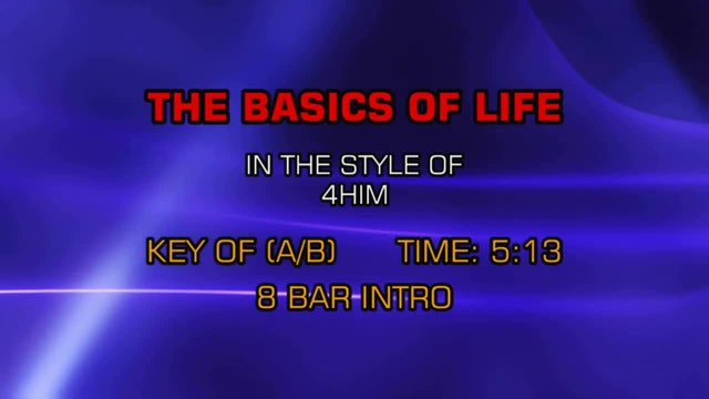 4Him - Basics Of Life, The