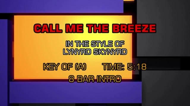 Lynyrd Skynyrd -Call Me The Breeze