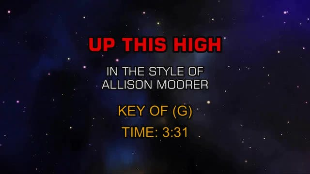 Allison Moorer - Up This High