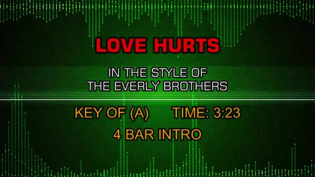 Everly Brothers, The - Love Hurts