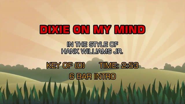 Hank Williams Jr. -Dixie On My Mind