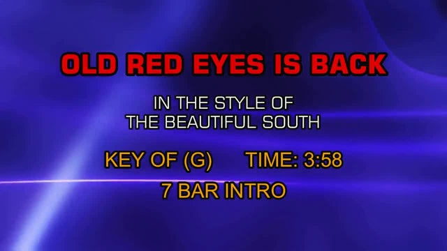Beautiful South, The - Old Red Eyes Is Back