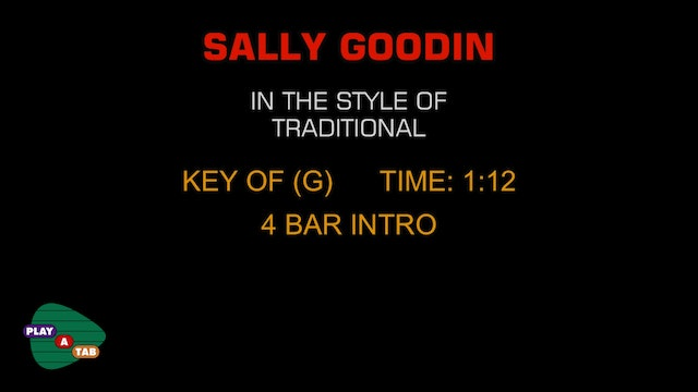 Folk Standard - Sally Goodin - Play A Tab