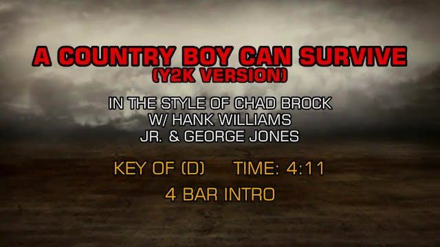 Chad Brock, Hank Williams Jr., George...