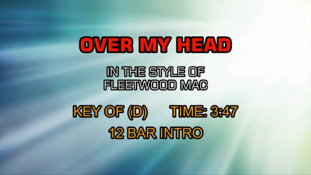 Over My Head - Fleetwood Mac