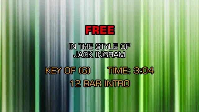 Jack Ingram - Free