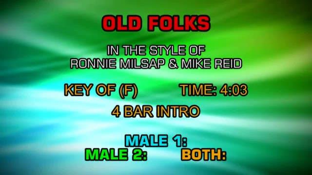 Ronnie Milsap - Old Folks