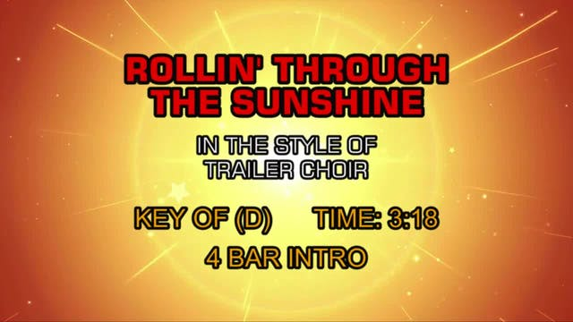 Trailer Choir - Rollin' Through The S...