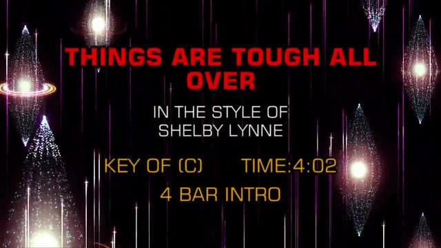 Shelby Lynne - Things Are Tough All Over