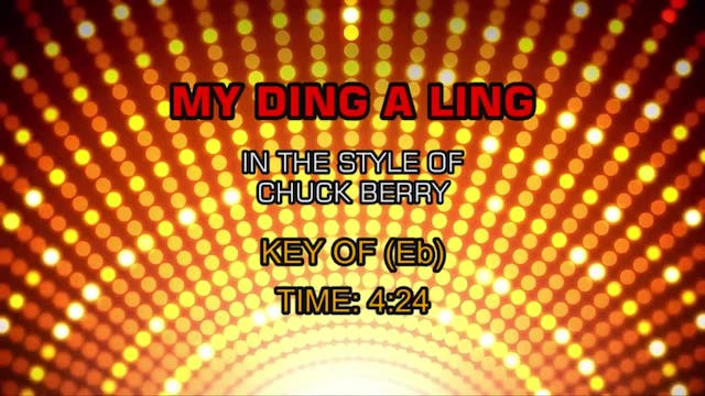 Chuck Berry - My Ding-A-Ling